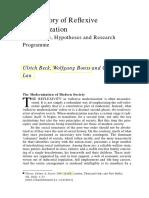 Beck Ulrich, Bonns Wolfgang, Lau Christoph. - The theory of reflexive modernization .pdf