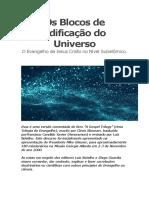 Os Blocos de Edificação Do Universo