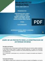 Proyecto Parque Betania Bosa