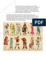 La Mitología Griega, Egipcia, Maya y Salvadoreña