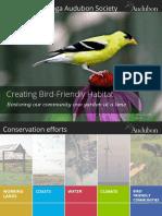 Bird-friendly Habitat Presentation v2