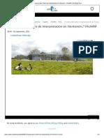 Proyecto Para Centro de Interpretación en Hontomín _ VAUMM _ ArchDaily Perú