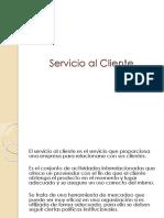26. Servicio Al Cliente