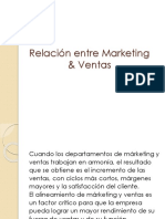29. Relación entre Marketing & Ventas