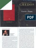 Gredos. Autores de Grecia y Roma
