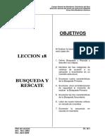 Pl-18 Busqueda y Rescate