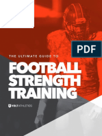 Volt Athletics Ultimate Guide to Football Strength Training