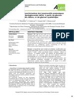 Synthèse Et Caractérisation Des Tensioactifs Nonioniques _de Type Alkylpolyglucoside (APG) à Partir Du Glucose _extrait Des Dattes Et Du Glucose Synthétique (2)