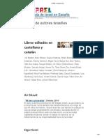 Autores Israelies en Español
