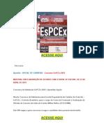 Apostila Concurso EsPCEX 2019 Oficial de Carreira PDF Download