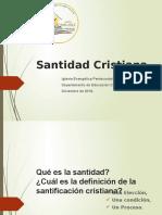 Santidad Cristiana%2c Dic 2018.