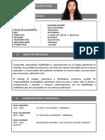Curriculum Documentado Ingrid