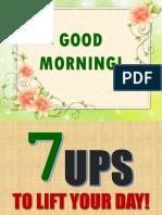 7 Ups for Posting