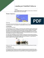 Viajes de Cristobal Colon y Barcos