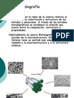 1ra Clase Concepto Metalografia Macro y Micro