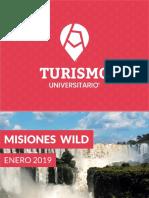 Turismo universitario misiones wild