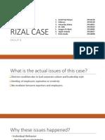 Rizal Case - Group 8