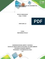 Tarea 2 - Describir Las Propiedades Del Suelo; Movimiento de Contaminantes