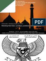 Metodologi Studi Islam Paradigma Pendeka