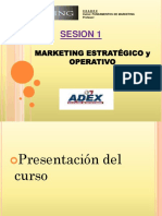 Definición Plan de Marketing