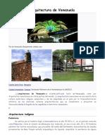 Arquitectura de Venezuela.docx