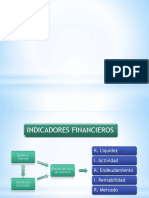 Indicadores Financieros (Ultimo)
