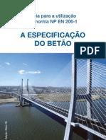 Guia para utilização da norma NP EN 206-1