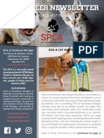 04.19 SPCA SWMI Newsletter