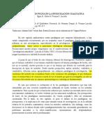 6. Investigacion Alternativa Por Una Distincion Entre Posturas Epistemologicas y No Entre Metodos - Pablo Paramo & Gabriel Otalvaro
