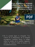 Genero y Productores Agropecuarios en Nicaragua