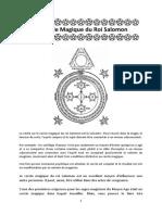 Le Cercle Magique Du Roi Salomon