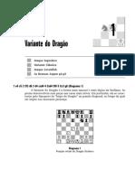 Xadrez - Siciliana Variante Dragão