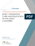 2016 - 6) Early Childhood Care and Education in Five Asian Countries a Literature Review 20160719