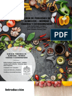 ALBUM DE PORCIONES CASERAS Y ESTANDARIZADAS