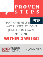7 Proven Steps for Math