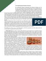 Five Fundamental Tantric Practices