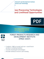 Bamboo Processing by DOST