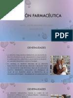 Atención Farmaceutica Generalidades
