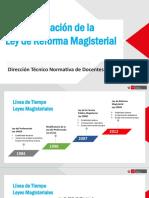 Implementacion de La Ley de Reforma Magisterial 27-Feb.2017