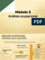 analisis ocupacional