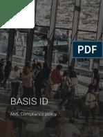 BASIS ID Product Datasheet