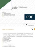 Clase 3.-Obras Provisionales y Preliminares 310816