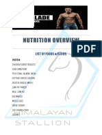 Nutrition Plan the Blade 12 Weeks by Jeet Selal 4