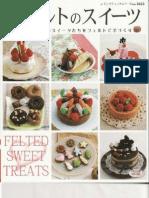 Felted Sweet Treats