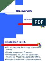 ITIL presentation
