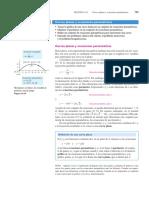 1.1 Ecuaciones Paramétricas