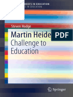Hodge-Martin Heidegger-Challenge to Education (1)