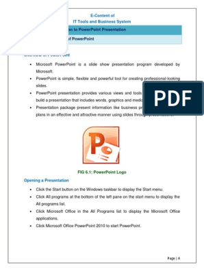 Powerpoint 2010 Logo Png