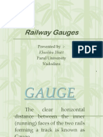Gauges of Rail