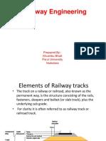 Elements of Railway Tracks